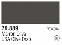 Model Color 091 / 70889 - Olivbraun / USA Olive Drab - FS34084
