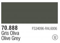 Model Color 092 / 70888 - Olive Grey - FS34096 - RAL6006