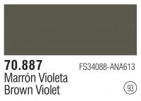 Model Color 093 /  70887 - Braunviolett / Brown Violet - FS34088 - ANA613
