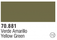 Model Color 112 / 70881 - Yellow Green