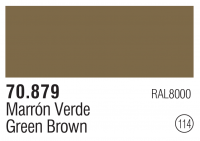 Model Color 114 / 70879 - Green Brown - RAL8000