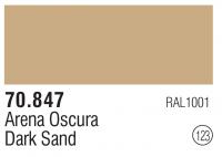 Model Color 123 / 70847 - Dunkler Sand / Dark Sand - RAL1001