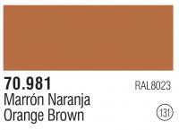 Model Color 131 / 70981 - Orangebraun / Orange Brown RAL8023