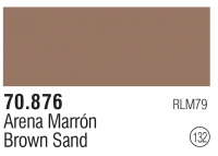 Model Color 132 / 70876 - Sandgelb Dunkel / Brown Sand - RLM79