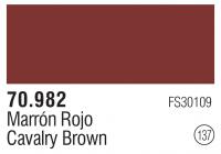 Model Color 137 / 70982 - Oxidrot / Cavalry Brown FS30109