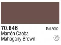Model Color 139 / 70846 - Mahogany Brown - RAL8002