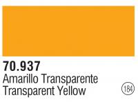 Model Color 184 / 70937 - Transparent  Gelb / Transparent Yellow