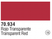 Model Color 186 / 70934 - Transparent Rot / Transparent Red
