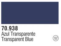 Model Color 187 / 70938 - Transparent  Blau / Transparent Blue