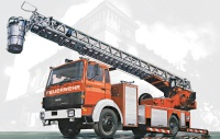 IVECO MAGIRUS DLK 26-12 Fire Ladder Truck - 1/24