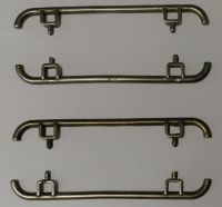 Leopard 2A6 Metal Parts Set III - Handholts-Set Turret - 4 parts - 1/16