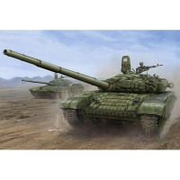 Russian T-72B1 - Main Battle Tank - with kontakt-1 reactive armor - 1:16