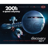 Discovery XD-1 - Nuclear powered deep space research Spacecraft - 2001: a space odyssey - 1/144