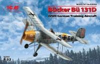 Bücker Bü 131D - Schulflugzeug - 1:32