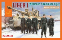 Tiger I - Early Production - Wittmann's Command Tiger - 1:72