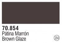 Model Color 204 / 70854 - Lasur Braun / Brown Glaze