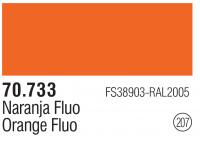Model Color 207 / 70733 - Orange Flourescent