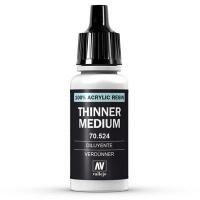 Vallejo Thinner Medium - 17ml