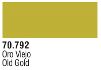 Model Color Metallics 70792 - Altgold / Old Gold - 35ml