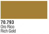 Model Color Metallics 70793 - Reichgold / Rich Gold - 35ml