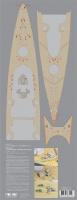 Holzdeck für DKM Bismarck - Trumpeter 03702 - 1:200