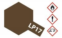 Tamiya LP-17 Linoleum Baun / Linoleum Deck Brown - 10ml
