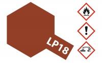 Tamiya LP-18 Rumpf Rot / Dull Red - 10ml