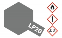 Tamiya LP-20 Light Gun Metal - 10ml