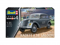 German Staff Car Kadett K38 Saloon - 1:35