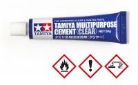 Tamiya Multi Purpose Cement - Clear / Mehrzweckklebstoff - klar - 20g