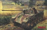 Panther Ausf. A - Spät - Mittelschwerer Kampfpanzer - Sd.Kfz. 171 - 1:35