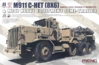 US M911 C-HET (8x6) & M747 Heavy Equipment Semi-Trailer - 1:35