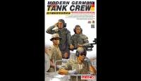 Bundeswehr Panzerbesatzung / Modern German Tank Crew - 4 Figuren - 1:35