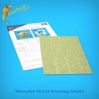Henschel Hs123 - Lufwaffe Camouflage Paint Mask Set - 1/48
