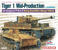 Tiger I - Mid-Production mit Borgward IV Ausf. A - 1:35