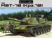 MBT-70 / Kampfpanzer 70 - Black Label - 1:35