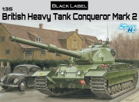 British Heavy Tank Conqueror Mark 2 - Black Label - 1:35