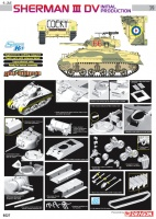 Sherman Mk. III DV - Initial Production - 1:35