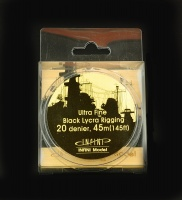 Black Ship Rigging - Ultra Fine - 0,048mm - 1/700 - 45m