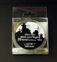 White Ship Rigging - Ultra Fine - 0,048mm - 1:700 - 45m