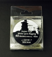 White Ship Rigging - Super Fine - 0,068mm - 1/700 - 1/350 - 45m