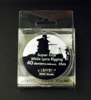 White Ship Rigging - Super Fine - 0,068mm - 1:700 - 1:350 - 45m