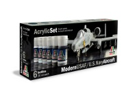 Italeri Acrylic Color Set Modern USAF / US Navy Aircraft