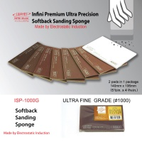 Softback Sanding Sponge - Ultra Fine #1000 - 140mm x 106mm - 2 pcs.