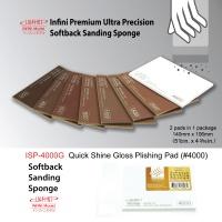 Softback Sanding Sponge - Quick Shine-Gloss Polishing Pad #4000 - 140mm x 106mm - 2 pcs.