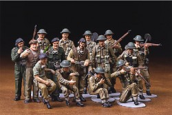 British Infantry and Tank-Crew Figure-Set - European Campaign - 1/48