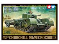 Churchill Mk. VII - Crocodile - British Tank - 1/48