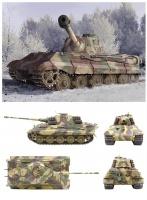Königstiger späte Produktion - sPzAbt. 506 - Ardennen 1944 - 1:35