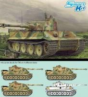 Tiger I Ausf. E - Frühe Produktion - TIKI - Das Reich Division - Schlacht um Kursk - 1:35