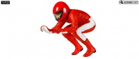 Motorradfahrer Figur - Straight Run Rider - 1:12
